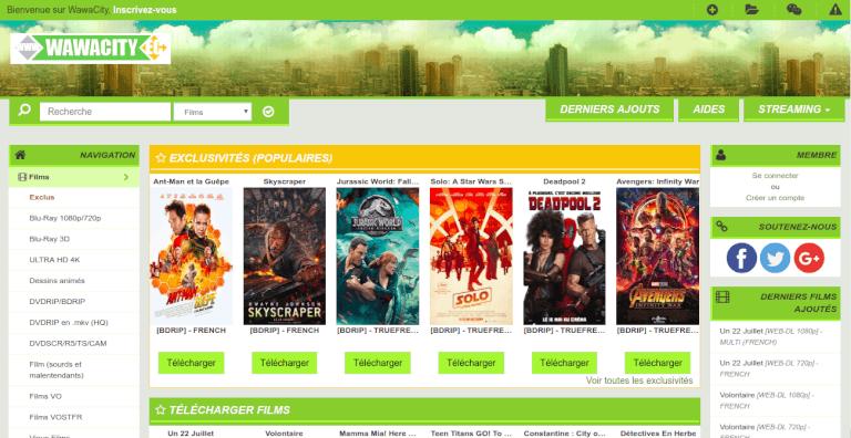 wawacity homepage