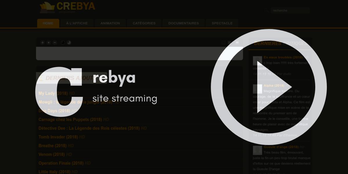 Crebya site streaming