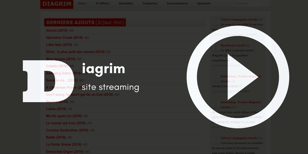 diagrim site streaming