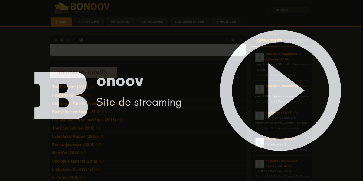 bonoov streaming