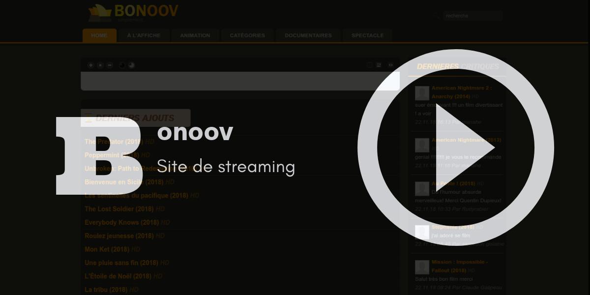 bonoov streaming