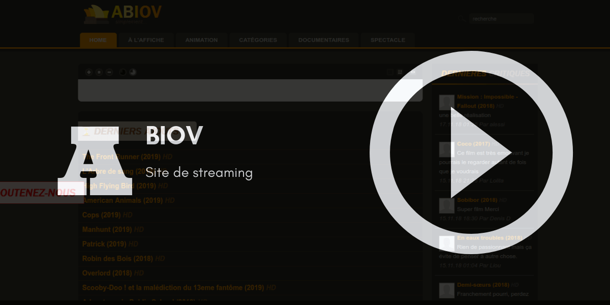 Aviov site streaming