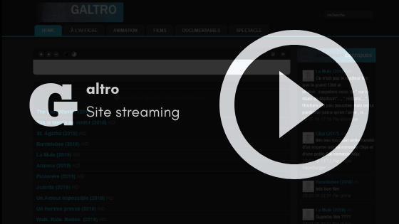 couverture galtro streaming