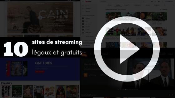 site de streaming légal et gratuit