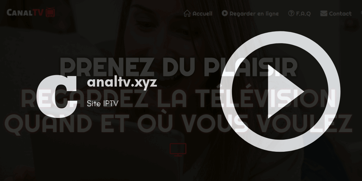 site officiel canaltv.xyz