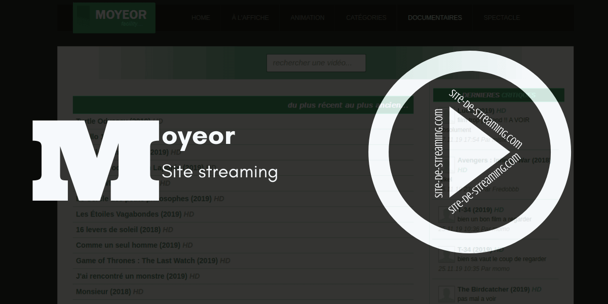 Moyeor streaming gratuit