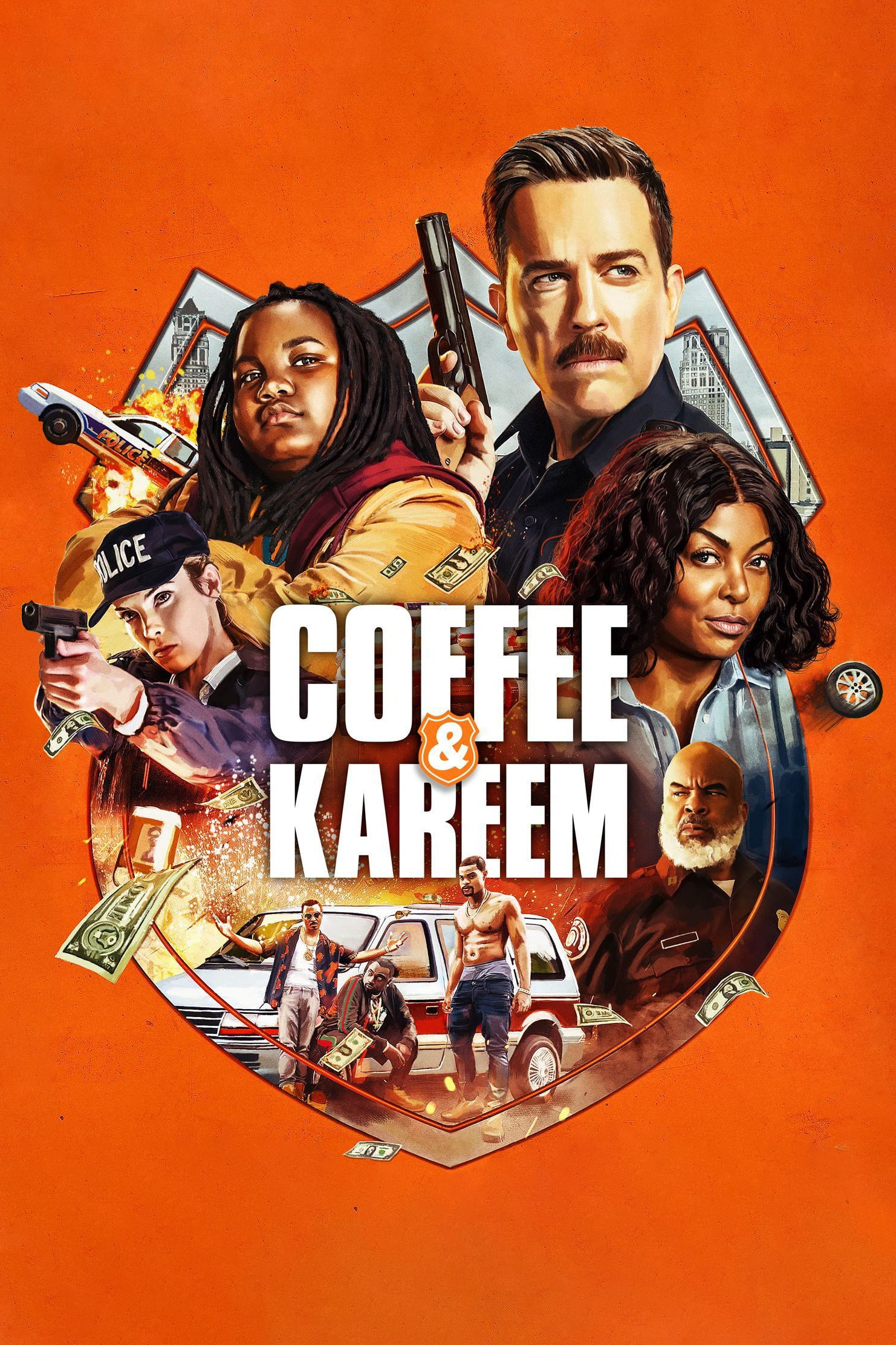 "Affiche du film ""Coffee & Kareem"""