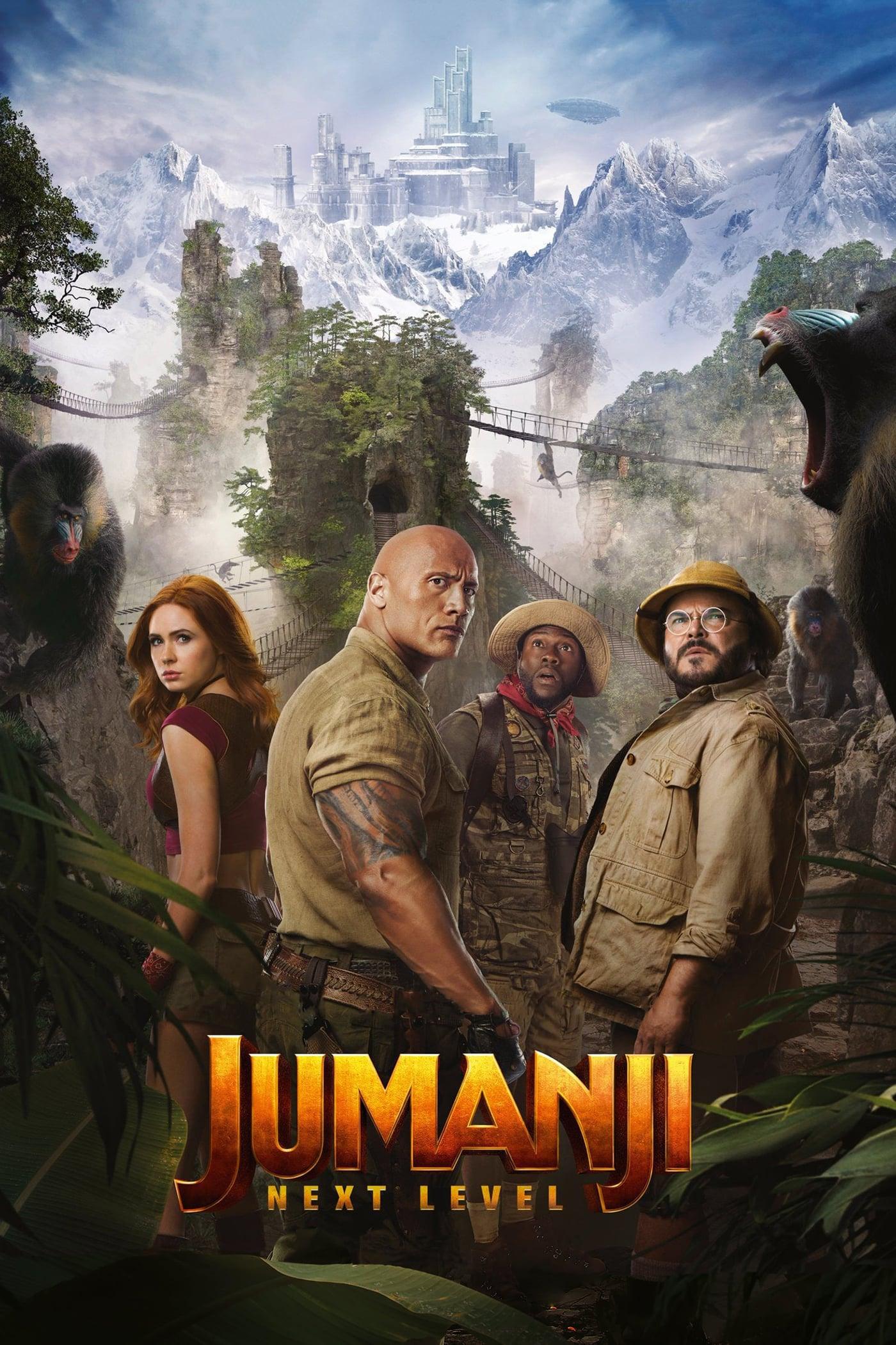 "Affiche du film ""Jumanji, Next Level"""
