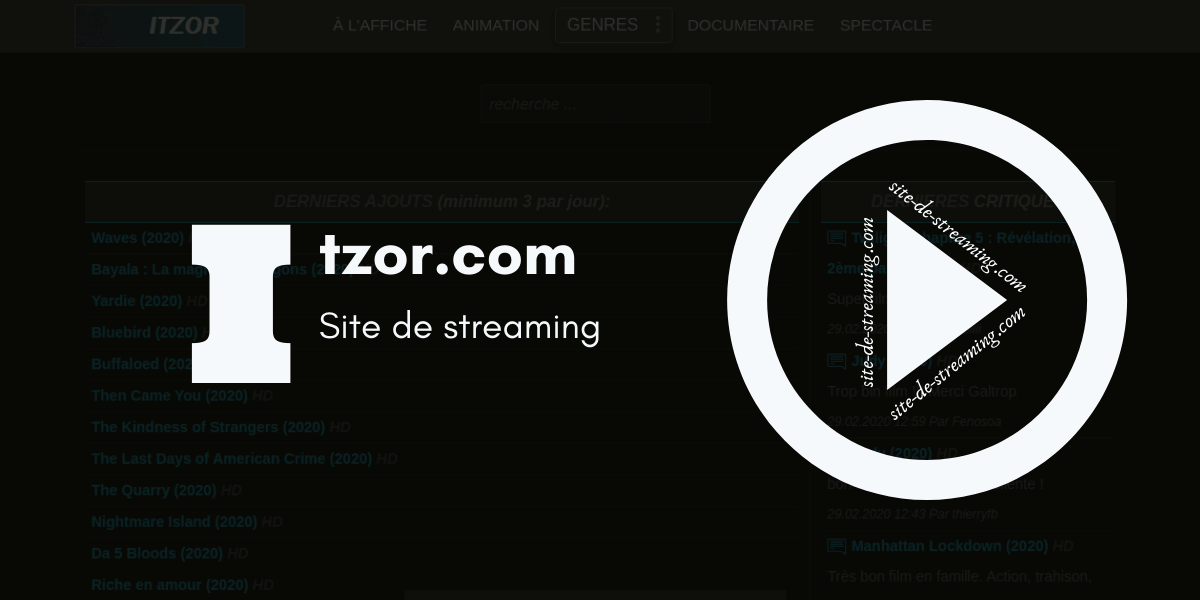 Itzor streaming