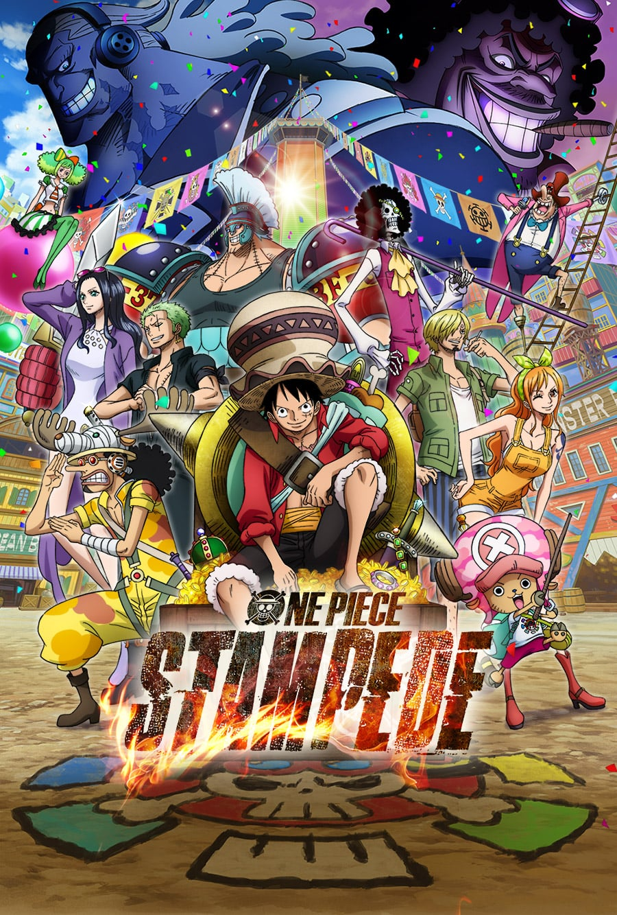 "Affiche du film ""One Piece Stampede"""