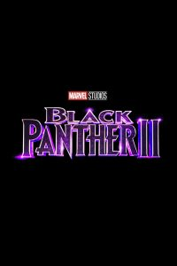"Affiche du film ""Black Panther II"""